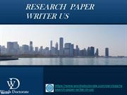 Research Paper Writer USA