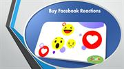 Buy Facebook Reactions and Increase more Reactions