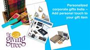 Personalized corporate gifts India – Add personal touch to your gift i