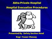 Hospital Evacuation drill