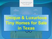 Modern Tiny Homes For Sale