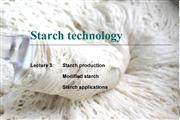 Starch Technology Lecture 3