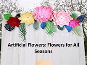 Artificial Flowers: Different types of artificial plant accessories
