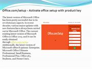 www.Office.com/setup - Activate office setup with product key