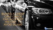 Car Accident Check | Has My Car Been Accident In The UK