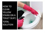 Best way to clean toilet bowl stains