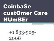 CoinbaSe custOmer Care NUmBEr +1 833//905//..2008