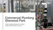 Top-Rated Commercial Plumbing Sherwood Park by Professionals