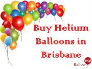 Buy Helium Balloons in Brisbane