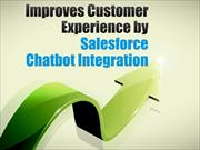 Improves Customer Experience by Salesforce Chatbot Integration