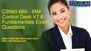 [PDF] C9560-680 - IBM Control Desk V7.6 Fundamentals Exam Questions