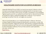 Healthcare Costs for US Expats in Mexico