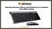 Topmate keyboard and mouse combo for office