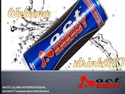 a.c.t Energy Drink