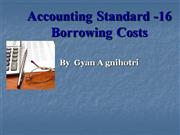 accounting stan\dard 16 borrowing cost