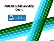 Automatic Glass Sliding Doors in Sharjah, Automatic Swing Glass Doors