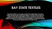 Bay State Textile- Cloth Recycling for The Prosperity of Society and E
