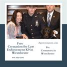 Free Cremation for Law Enforcement K9 in Westchester