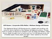 Gift Boxes | Corporate Gifts Malta | Maltese Design Gift Boxes