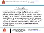 Top hospitality management colleges in India