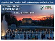 Complete Solo Travelers Guide to Washington for the First Time