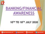 ppt banking affairs 10th to 18th july 2020