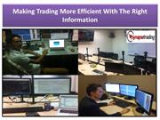 Making Trading More Efficient With The Right Information