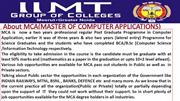 top mca colleges in up