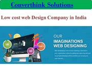 Low cost web Design Company in India