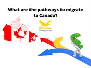 What are the pathways to migrate to Canada_