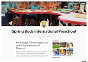 Knowledge Centric Approach at the Top Preschool in Mumbai