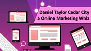 Daniel Taylor Cedar City a Online Marketing Whiz