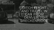 Car Service From Denver To Breckenridge