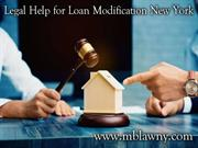 Legal help for Loan modification New York