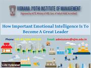 How Important Emotional Intelligence Is To Become A Great Leader