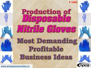 Production of Disposable Nitrile Gloves