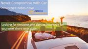 insurance for one day on car