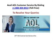 AOL Customer Service By Dialing +1-888-404-8414(Toll-Free)