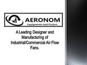 Axial Fan Manufacturer of India