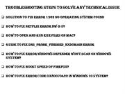Troubleshooting Steps To Solve Any Technical Issue