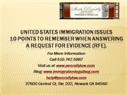 RFE presentation (immigration request for evidence)