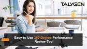 Easy-to-Use 360-Degree Performance Review Tool