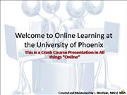 Online Learning RMF PT 1 with audio