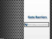 Gate Barriers in UAE, Parking Barrier Suppliers in UAE