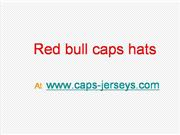 kind of red bull caps