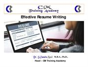 resume writing ppt [Compatibility Mode]