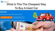 Where To Buy A Car Online In England