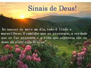 SINAIS DE DEUS