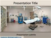 Operation Theatre Powerpoint Templates