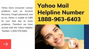 Yahoo Mail Customer Care Number 1888-963-6403